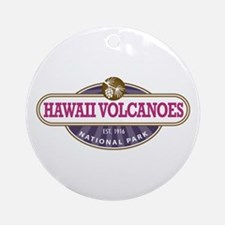 Hawaii Volcanoes National Park Ornament (Round)