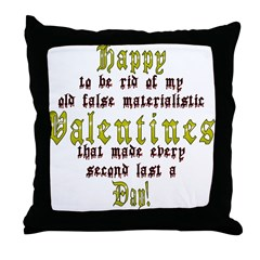 Happy ... Day! Throw Pillow