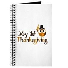 My 1st Thanksgiving Owl Journal