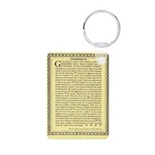 The Desiderata Poem by Max Keychains