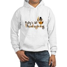 Baby's 1st Thanksgiving Owl Hoodie