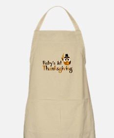 Baby's 1st Thanksgiving Owl Apron