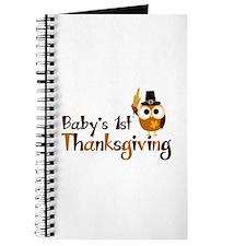 Baby's 1st Thanksgiving Owl Journal