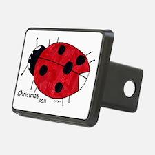 Ladybug Ornament Hitch Cover