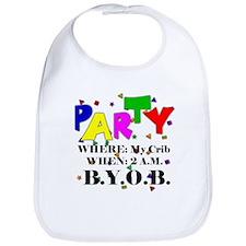 Party Time Bib