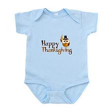 Happy Thanksgiving Owl Infant Bodysuit