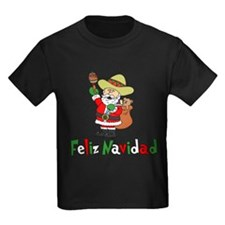 Feliz Navidad Santa T-Shirt