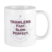 Fast or slow trawlers are perfect