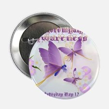 "Fibromyalgia Awareness 2.25"" Button"