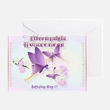 Fibromyalgia Awareness Greeting Card