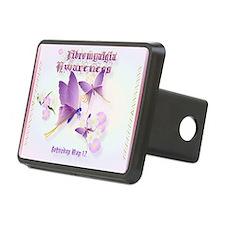 Fibromyalgia Awareness Hitch Cover