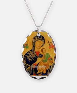 Our Mother of Perpetual Help Byzantine Necklace
