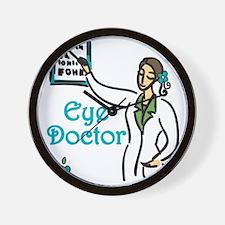 Eye Doctor Wall Clock