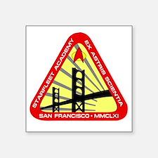 """starfleet academy logo copy Square Sticker 3"""" x 3"""""""