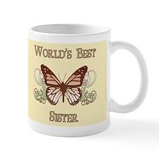 World's Best Sister (Butterfly) Mug