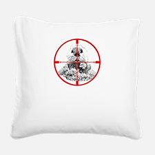 Varmint Poontang Square Canvas Pillow