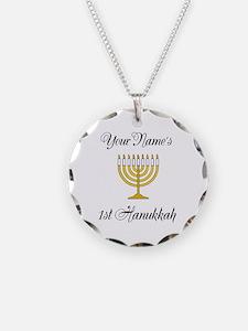 Custom 1st Hanukkah Necklace
