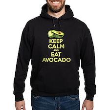 Keep Calm And Eat Avocado Hoodie