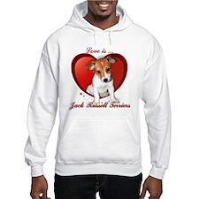 Jack Russell Heart Hoodie
