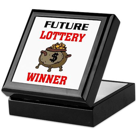 LOTTERY WINNER Keepsake Box