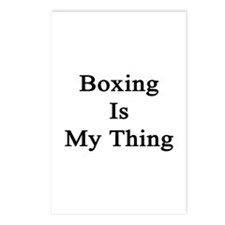 Boxing Is My Thing  Postcards (Package of 8)