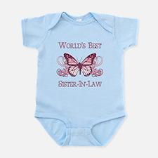 World's Best Sister-In-Law (Butterfly) Infant Body