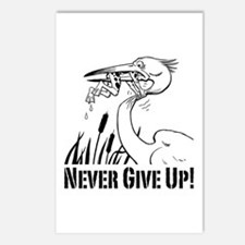 Never Give Up! Postcards (Package of 8)