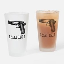 Dial 1911.jpg Drinking Glass