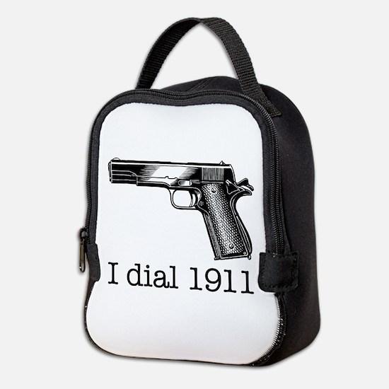 Dial 1911.Jpg Neoprene Lunch Bag
