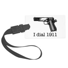Dial 1911.Jpg Luggage Tag
