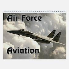 Air Force Aviation Wall Calendar