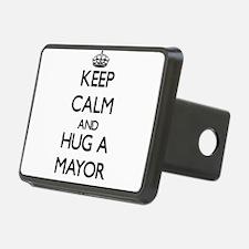 Keep Calm and Hug a Mayor Hitch Cover