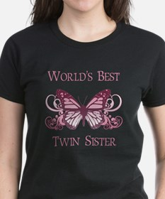 World's Best Twin Sister (Butterfly) Tee