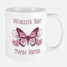 World's Best Twin Sister (Butterfly) Mug