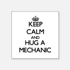 Keep Calm and Hug a Mechanic Sticker