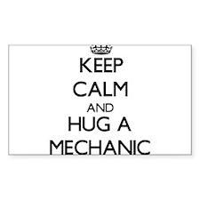 Keep Calm and Hug a Mechanic Decal