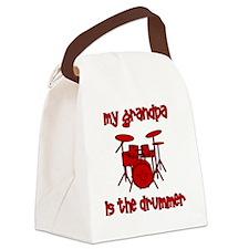 drums_mygrandpaisthedrummer Canvas Lunch Bag