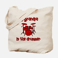 drums_mygrandpaisthedrummer Tote Bag