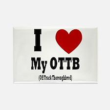 I <3 my OTTB Rectangle Magnet