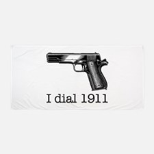Dial 1911.Jpg Beach Towel