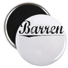 Barren, Vintage Magnet