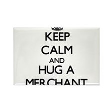 Keep Calm and Hug a Merchant Magnets