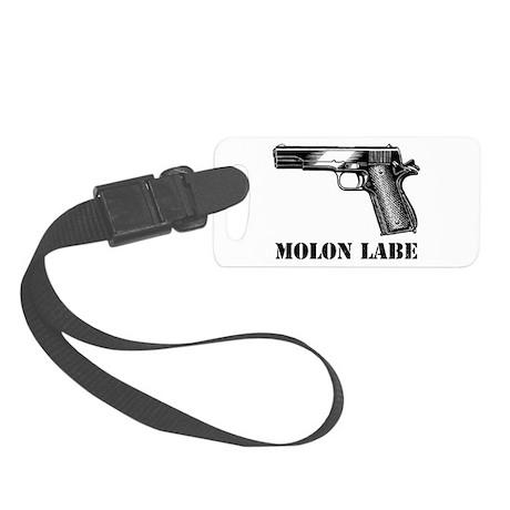 Molon Labe 45 Small Luggage Tag