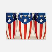Puerto_Rico_Conga_HR Rectangle Magnet