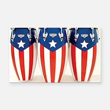 Puerto_Rico_Conga_HR Rectangle Car Magnet