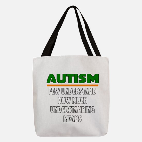 Autism support Polyester Tote Bag