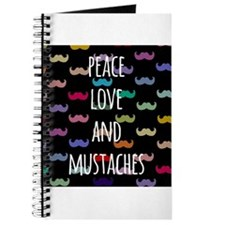 Peace Love and Mustaches Journal