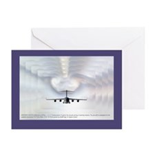 Globemaster Cloud Effect Greeting Cards (Package o