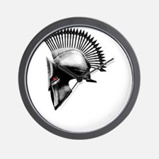 Naughty Spartan Wall Clock
