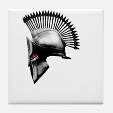 Naughty Spartan Tile Coaster